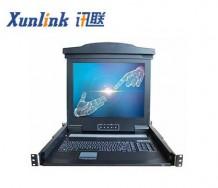 "IPKVM-1908-M6 19""8口LCD IP切换器"