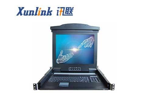 "IPKVM-1916-M6 19""16口LCD IP切换器"
