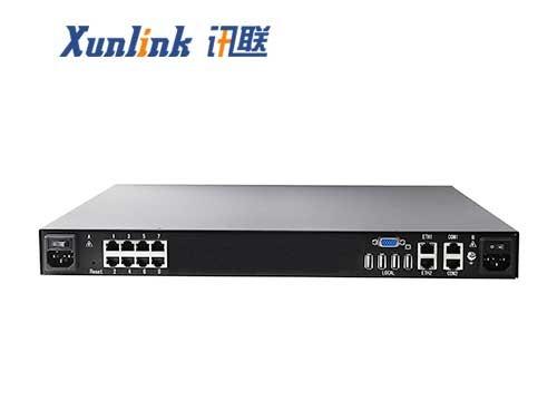 HM1108Ci 8口1远程数字IP KVM切换器