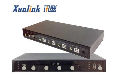 KM104 4口键盘鼠标切换器