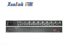 KVM0108AH 8口支持音频USB2.0切换器机架式