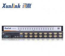 KVM0116i 机架式16口VGA IP KVM切换器