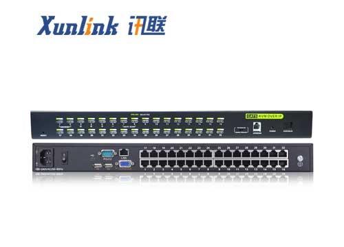 KVM0132Ci 32口CAT5 KVM OVER IP
