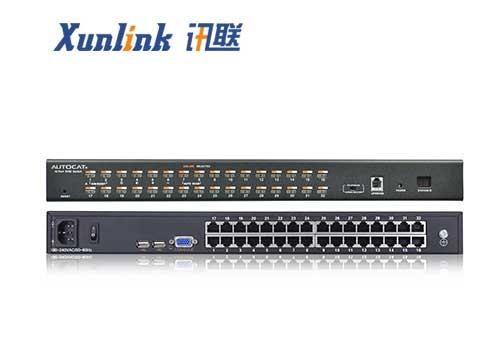 KVM0132C 32口机架式切换器Cat5