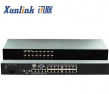 KVM0516C 16口矩阵切换器Cat5