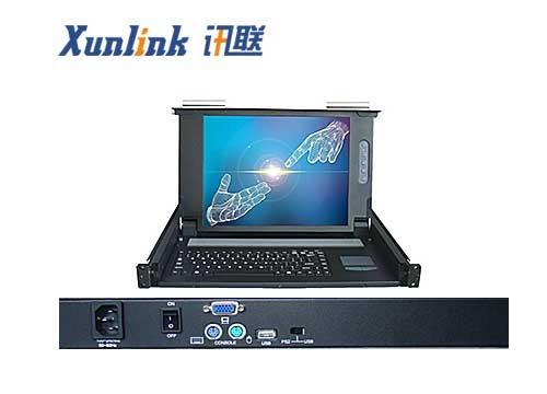 "LD1501S 15""单口LCD KVM紧凑型设计"