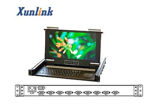 "LD1508SW 15.6""宽屏8口LCD KVM"