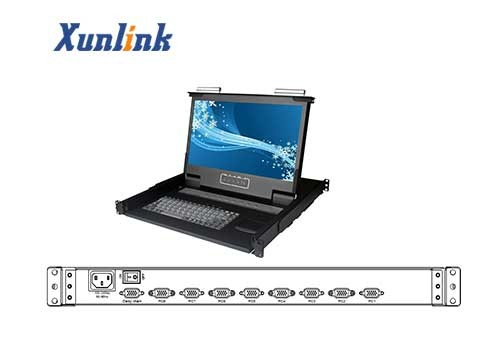 "LD1708SW 8口17.3""宽屏LCD KVM"