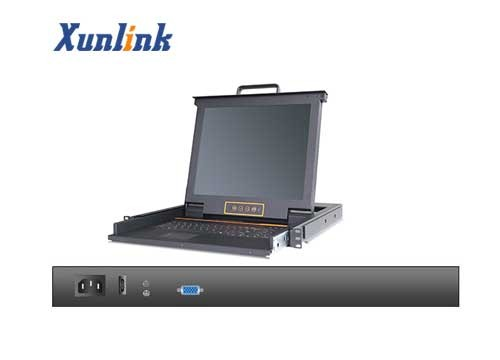 "LK1701 1口17""LCD KVM切换器"