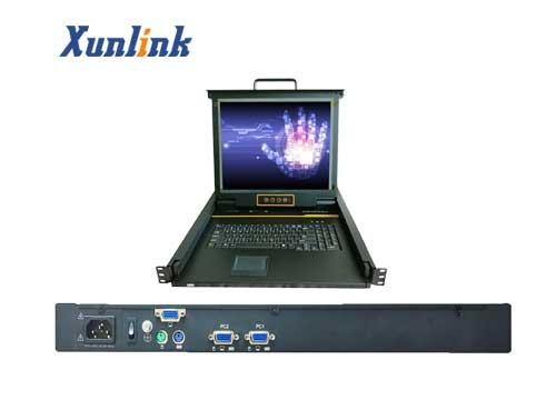 "LK1702 2口17""LCD KVM切换器"
