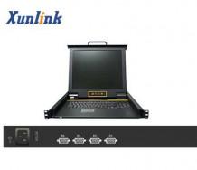 "LK1704 4口17""LCD KVM切换器"
