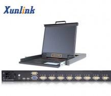 "LK1708 17""8口LCD KVM切换器"