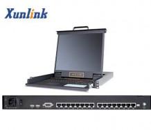 "LK1716C 16口17""LCD KVM切换器Cat5"