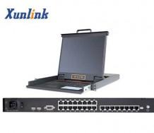 """LK1724C 24口17""""Cat5 LCD KVM"""