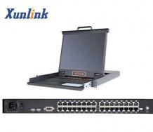 """LK1732C 32口17""""Cat5 LCD KVM"""