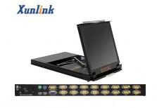 "LK1916D 16口19""LCD 双滑轨KVM"