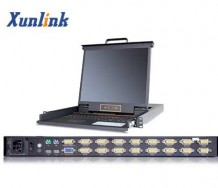 "LK1916 16口19""LCD KVM切换器"