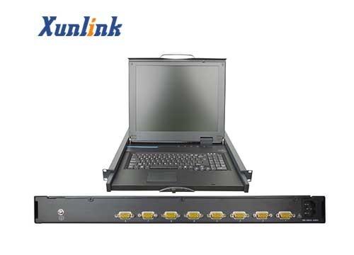 "LS708AU 8口17""LCD KVM切换器"