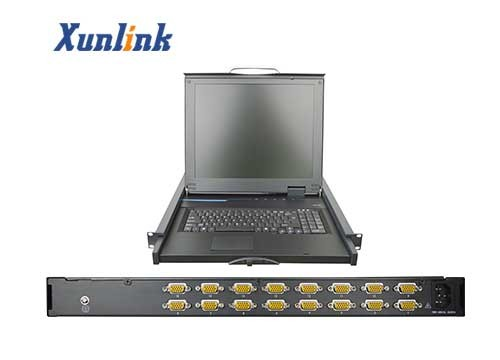 """LS916AU 16口19""""LCD多电脑切换器"""