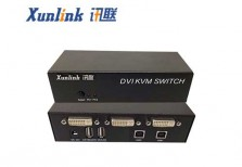 SW1201DVI 2口DVI桌面式切换器