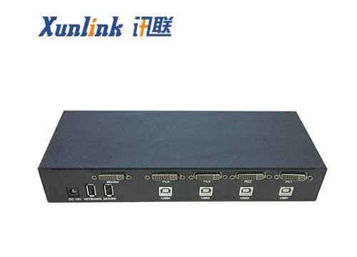 SW1401DVI 4口DVI桌面式主机切换器