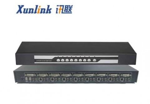 SW2108DVI 8口DVI KVM切换器