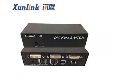 SW2201DVI 2口USB2.0桌面KVM
