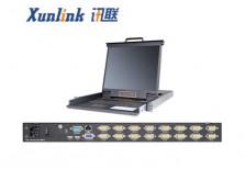 XL1716i 16口LED IP KVM切换器VGA接口