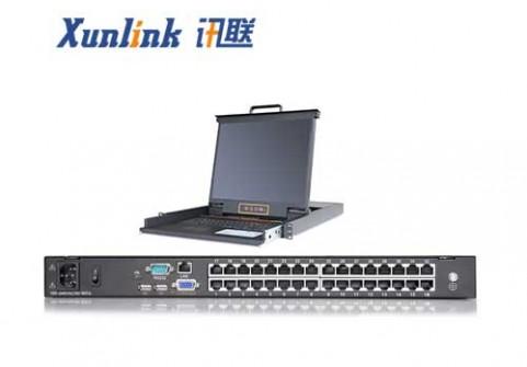 "XL1932Ci 19"" 32口LED IP切换器CAT5"