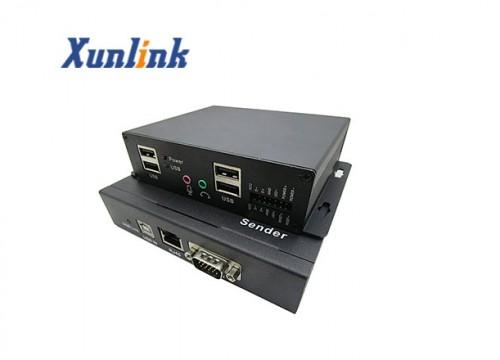 CE055V 55米,支持USB2.0-双向音频-VGA网线延长器