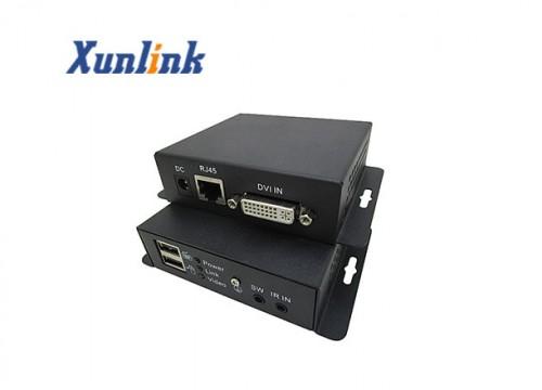 CE100DU 100M,支持USB键鼠,远程开关机DVI延长器
