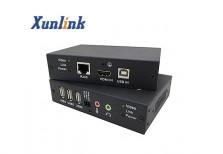 CE100HUA 100米,支持USB2.0,双向音频HDMI网线延长器