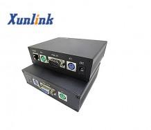 CE200VLP 200米,支持远程开关机,PS/2键鼠VGA网线延长器
