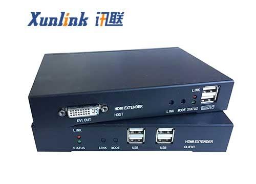 DMX101数字矩阵KVM支持HDMI音频USB2.0
