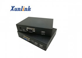 NE200VL支持VGA,音频,USB键鼠网络延长器
