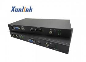 OE500VLU支持VGA,USB2.0,音频,RS232光纤延长器