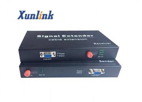 OE500VL支持VGA,USB键鼠,音频光纤延长器