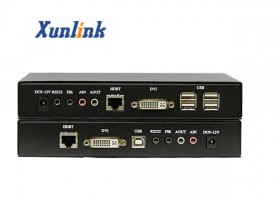 SE8200 100米,支持USB2.0,双向音频DVI网线延长器