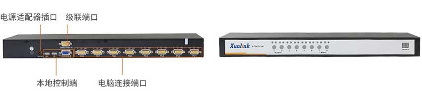 KVM0108机架式kvm