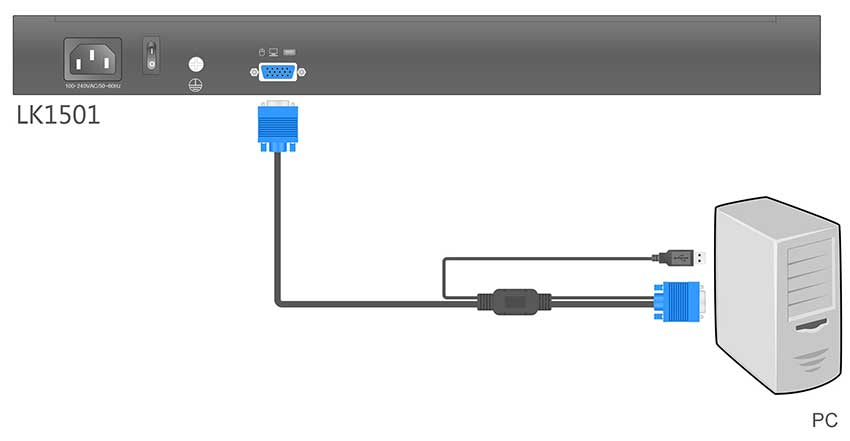LK1501连接示意图