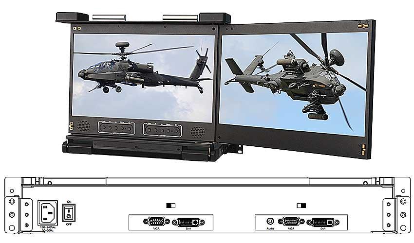 RMD-17W-D2kvm折叠显示器